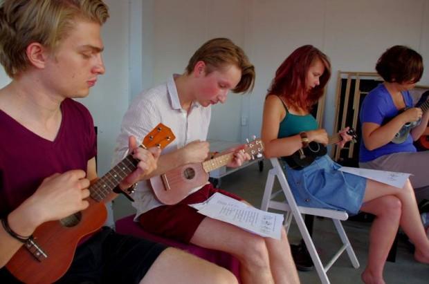 Poznań oszalał na punkcie ukulele!