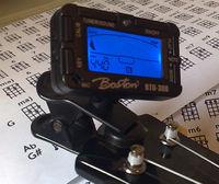 stroik gitarowy, tuner, boston btu-300